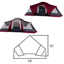 Wenzel Great Basin 18' x 10' Tent