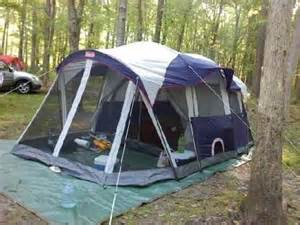 Coleman Elite Weathermaster 6 Screened Tent : 6 person tent with screened porch - memphite.com